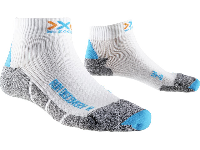 X-Socks Run Discovery Løbesokker Damer grå/hvid